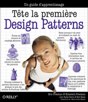 Tête la première, Design patterns
